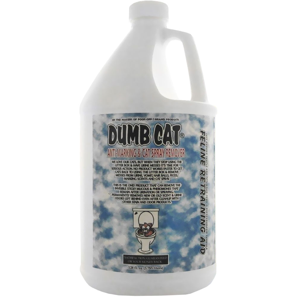 Dumb Cat Anti-Marking & Cat Spray Remover (128 fl oz) im test