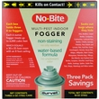 Durvet No-Bite Multi-Pest Indoor Fogger (3 x 6 oz)