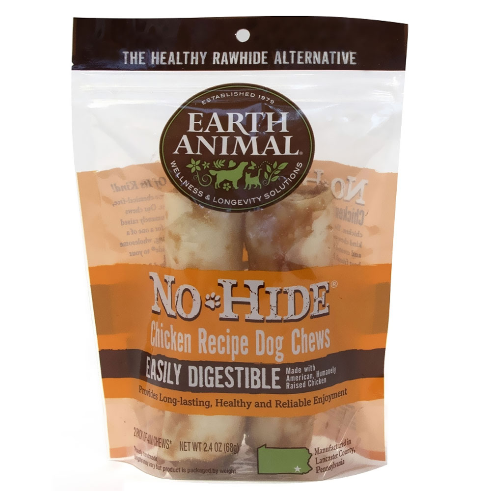Earth Animal No-Hide Chicken Chews - 2 Pack (2.4 oz)
