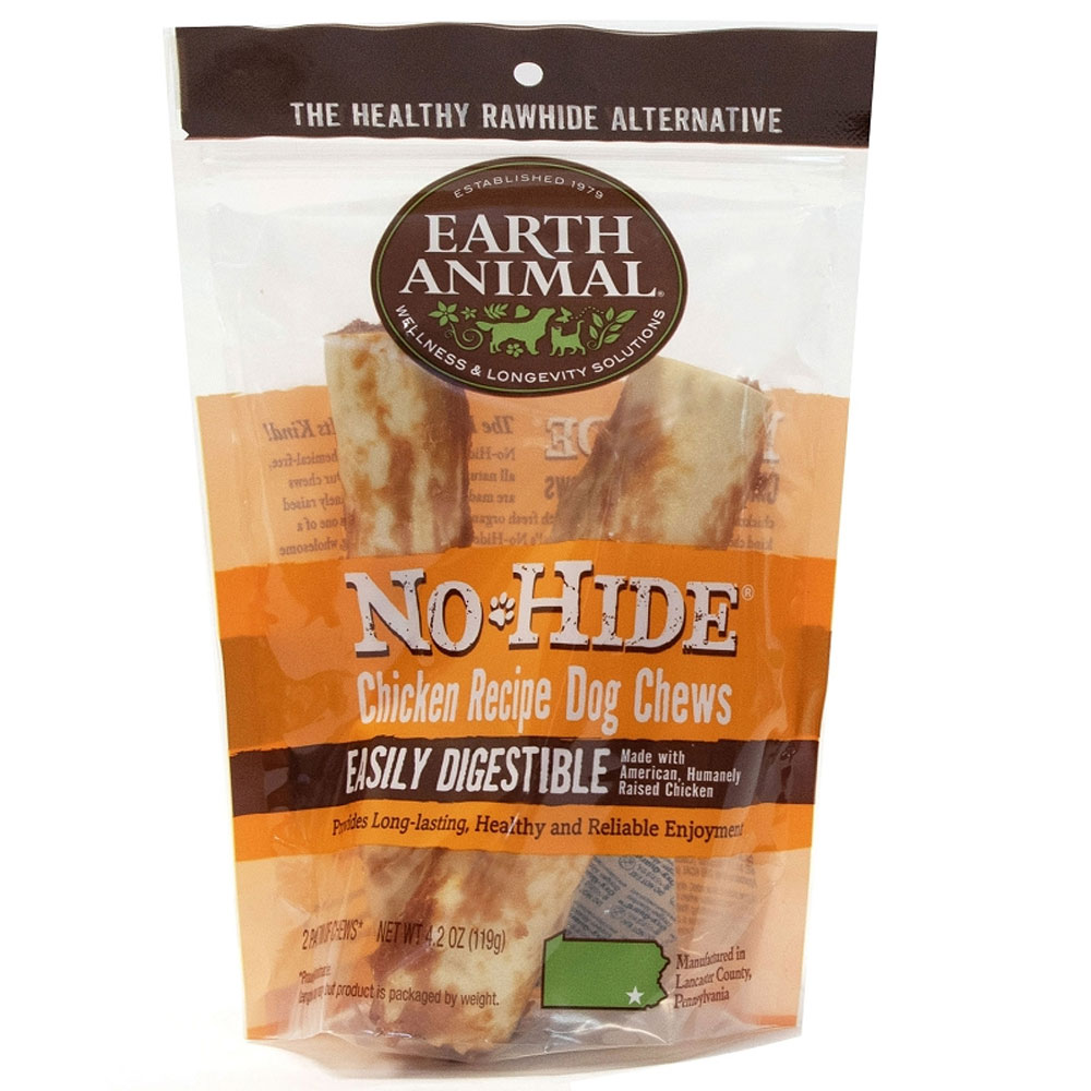Earth Animal No-Hide Chicken Chews - 2 Pack (4.2 oz)