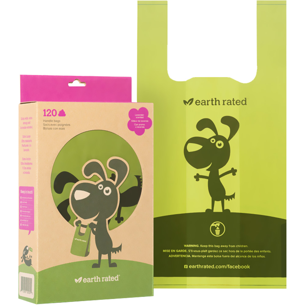 Earth Rated Scented 120 Easy-Tie Handle Poop Bags im test