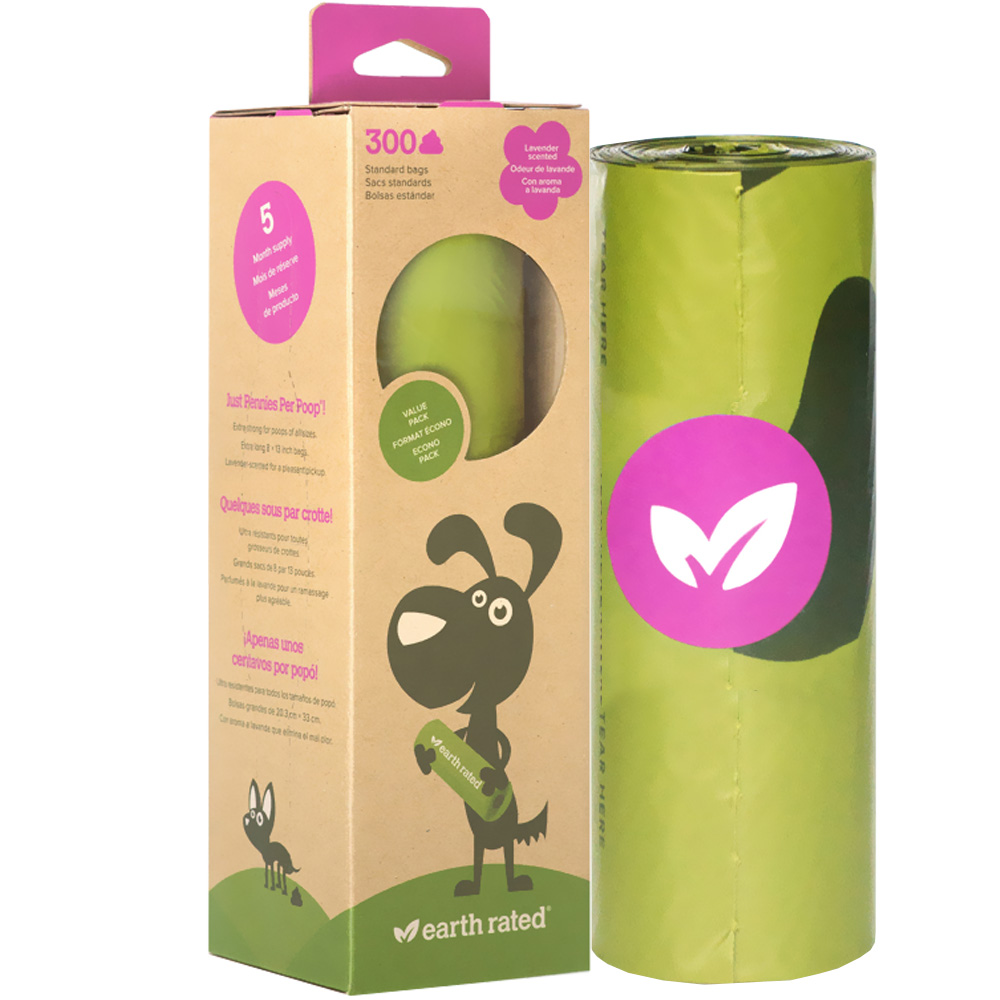 Earth Rated Scented Poop Bag Roll (300 bags) im test