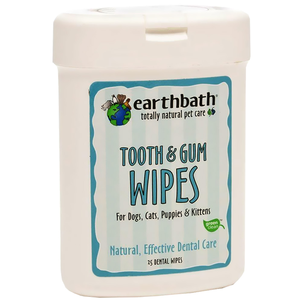 Image of Earthbath Dental Wipes (25 count)