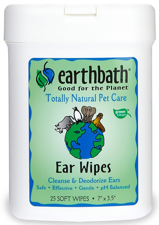 Earthbath Ear Wipes (25 soft wipes) im test