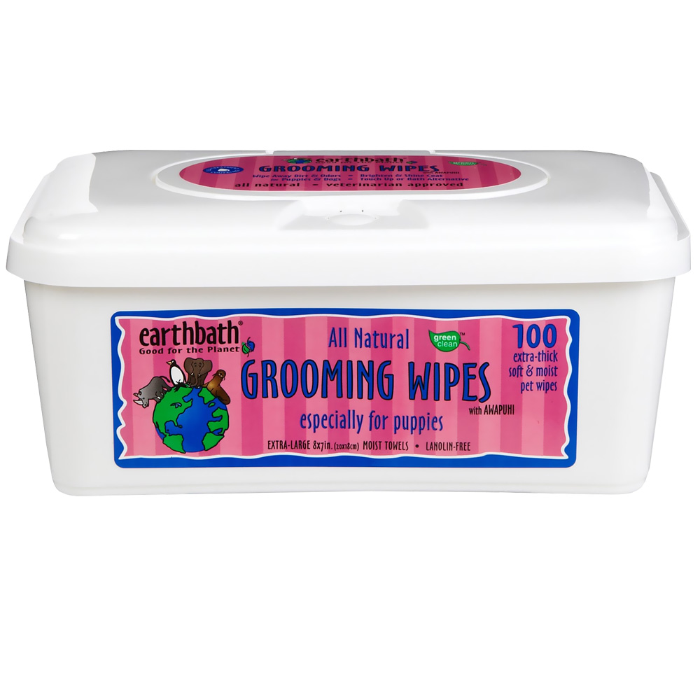 Earthbath Grooming Wipes for Puppies (100 count) im test