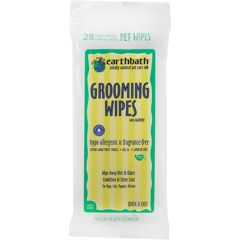 Earthbath Hypo-allergenic Grooming Wipes (28 ct) im test