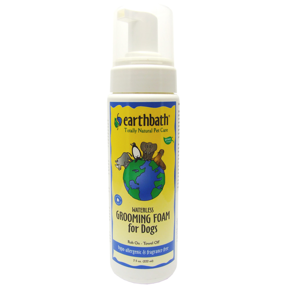 Earthbath Hypo-Allergenic Waterless Grooming Foam for Dogs (7.5 oz) im test
