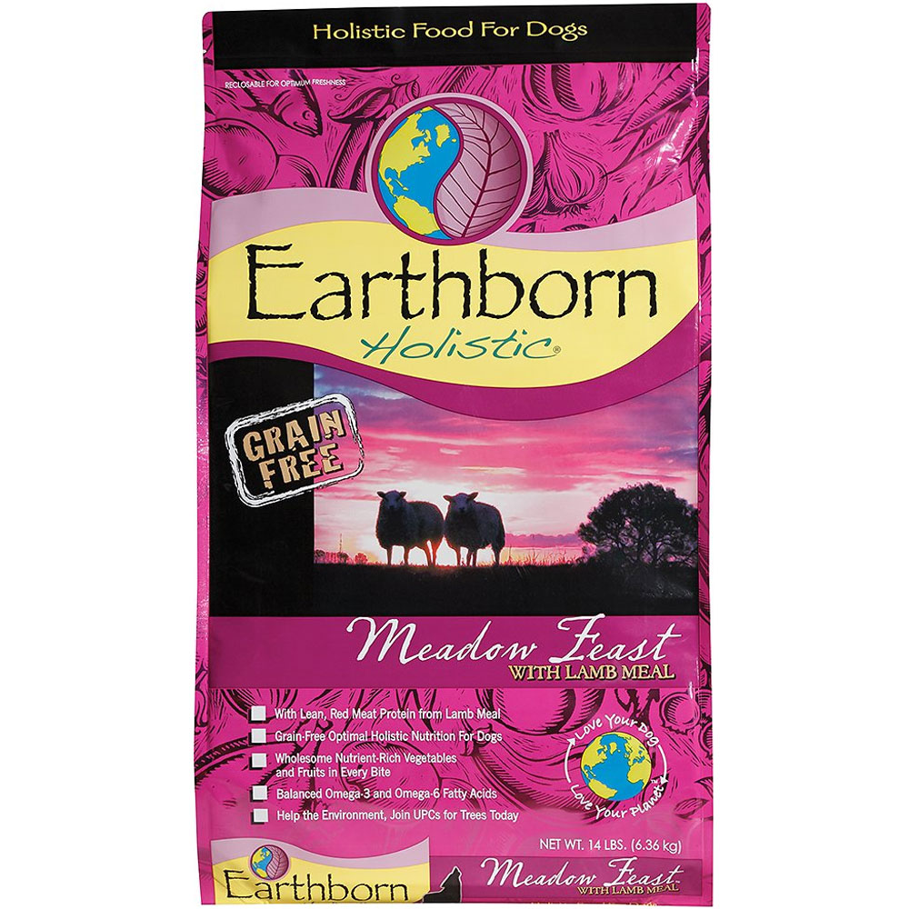 Image of Earthborn Holistic Meadow Feast with Lamb Meal Dog Food (14 lb)