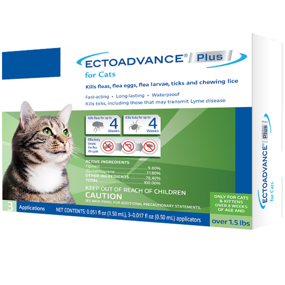 EctoAdvance Plus for Cats (3 Doses) im test