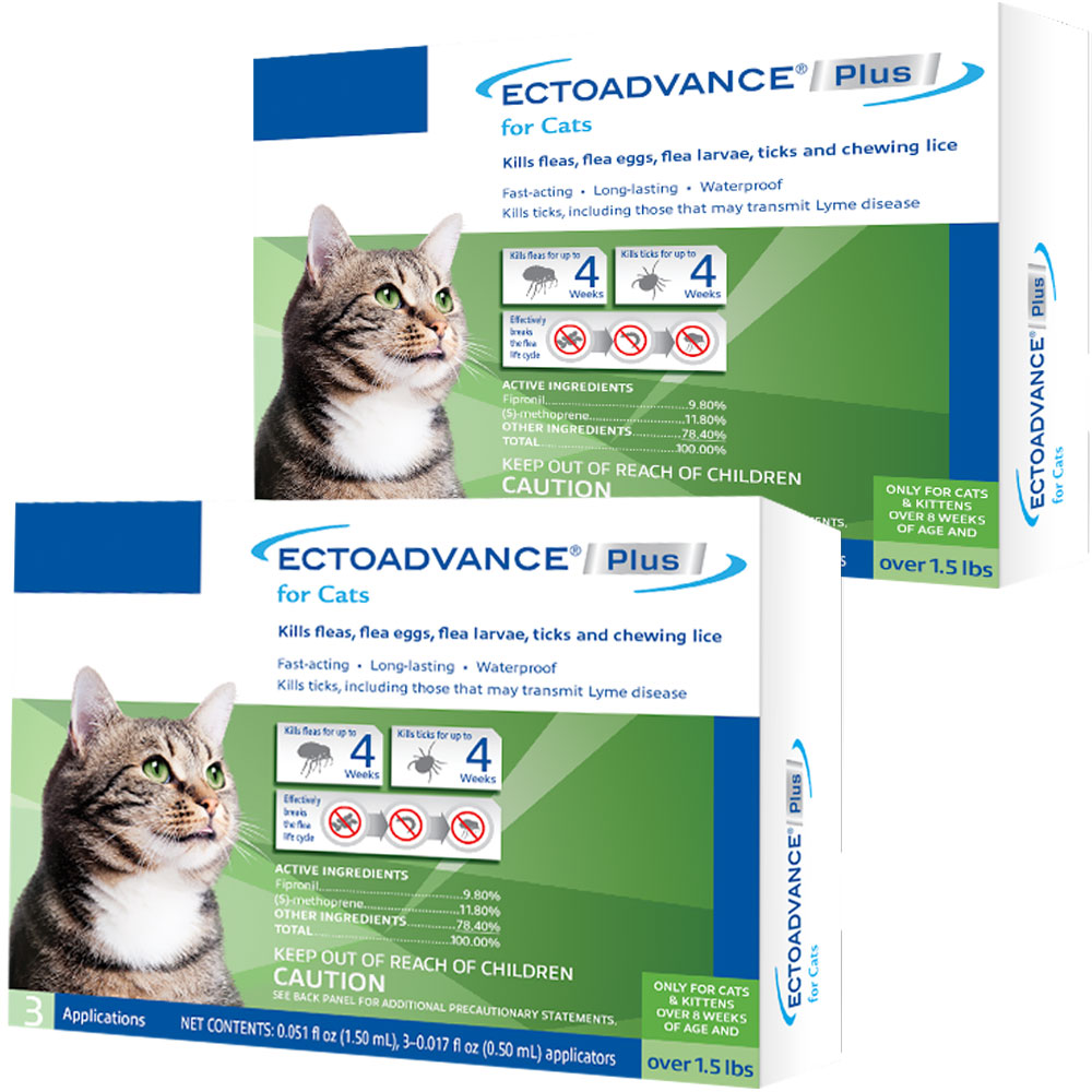 EctoAdvance Plus for Cats (6 Doses) im test