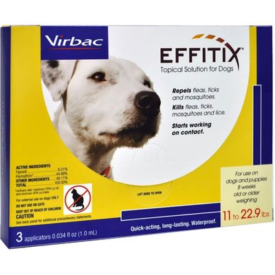 Effitix Topical solution for Dogs 11-22.9 lbs. - 3 Months