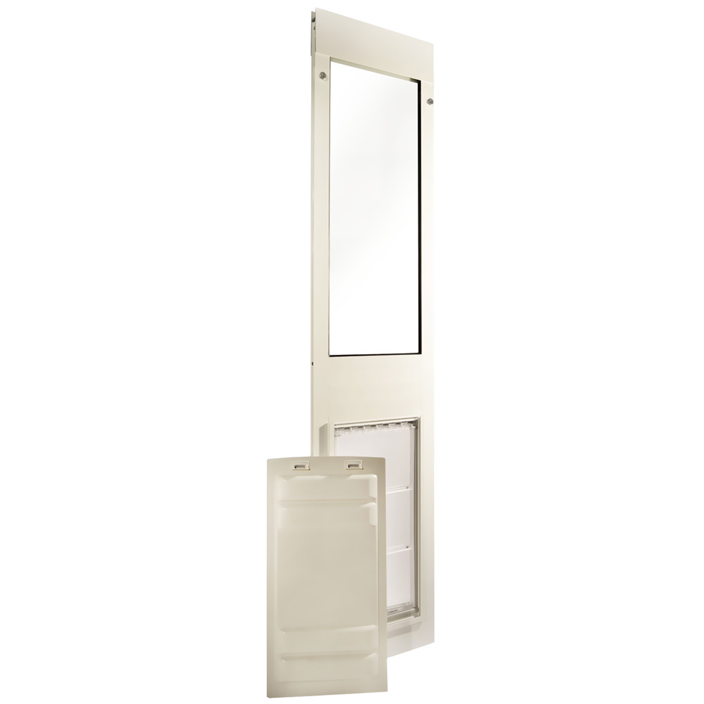 Endura Flap Pet Door Thermo Panel 3e White Frame Extra
