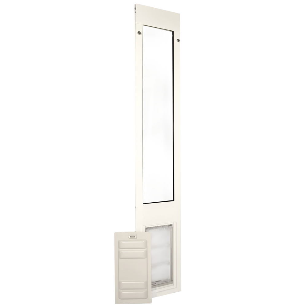 Endura Flap Pet Door Thermo Panel 3e White Frame Small