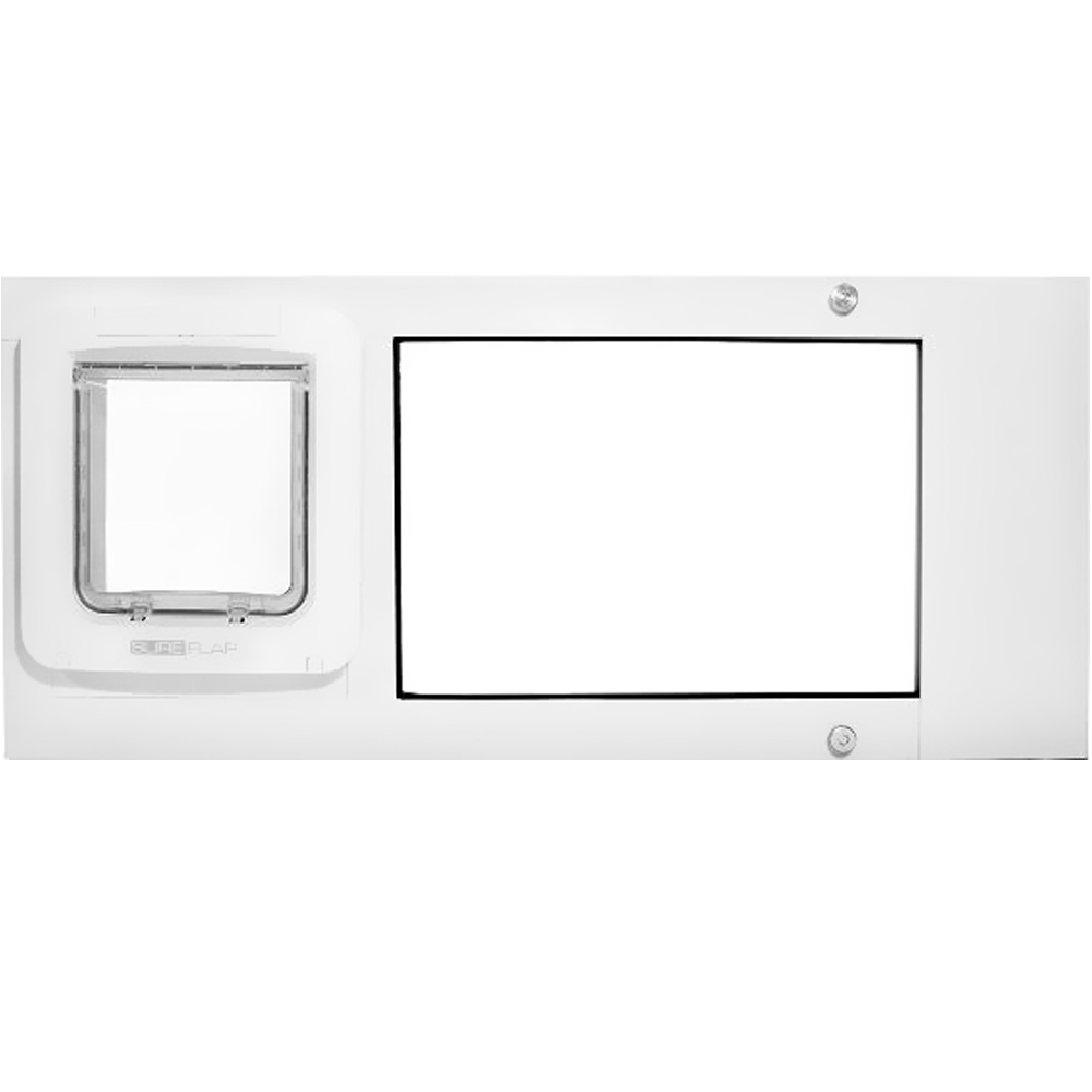 Endura Flap Pet Door - Thermo Sash 2e With Sureflap Microchip Bronze Frame - 37-40 - For Dogs - From Entirely Pets