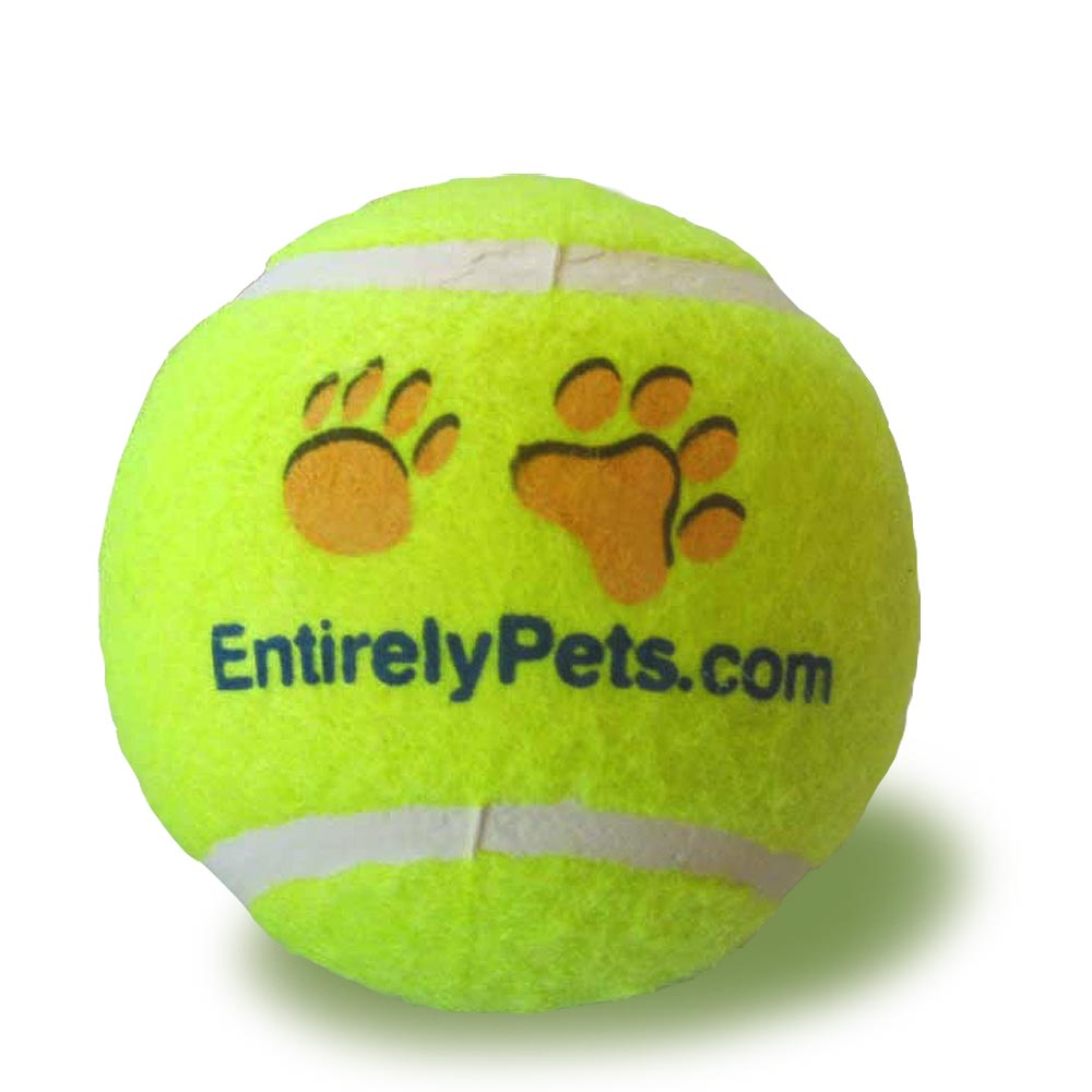 """EntirelyPets Tuff Balls Tennis Ball (2.5"""")"" im test"
