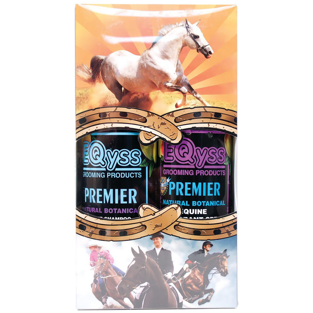 Image of EQyss Premier Equine Shampoo/Rehydrant Spray - Dual Pack