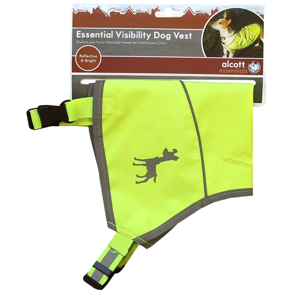 Image of Essential Visibility Dog Vest Neon Yellow - Large