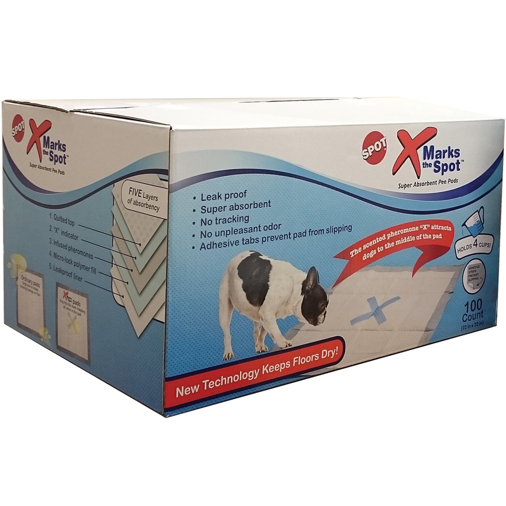 Ethical X-Marks the Spot Super Absorbent Pee Pads (100 count) im test