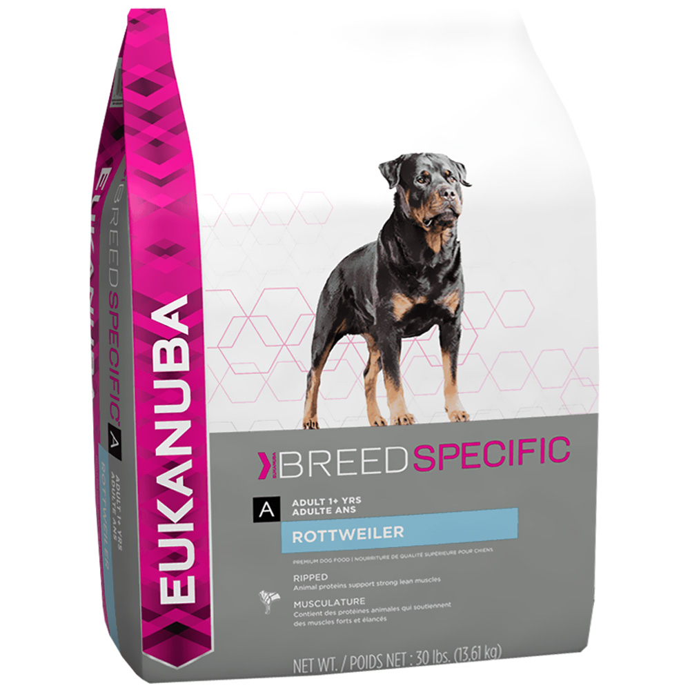 Eukanuba Breed Specific Dog Food Adult - Rottweiler (30 lb) im test