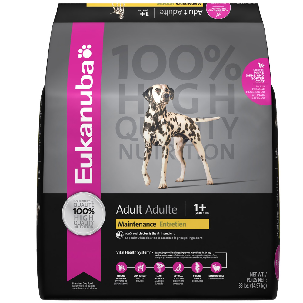 Eukanuba Adult Dog Food - Maintenance (30 lb) im test