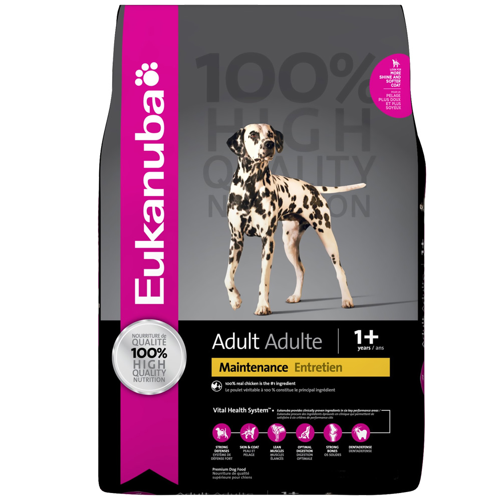 Eukanuba Adult Dog Food - Maintenance (5 lb) im test