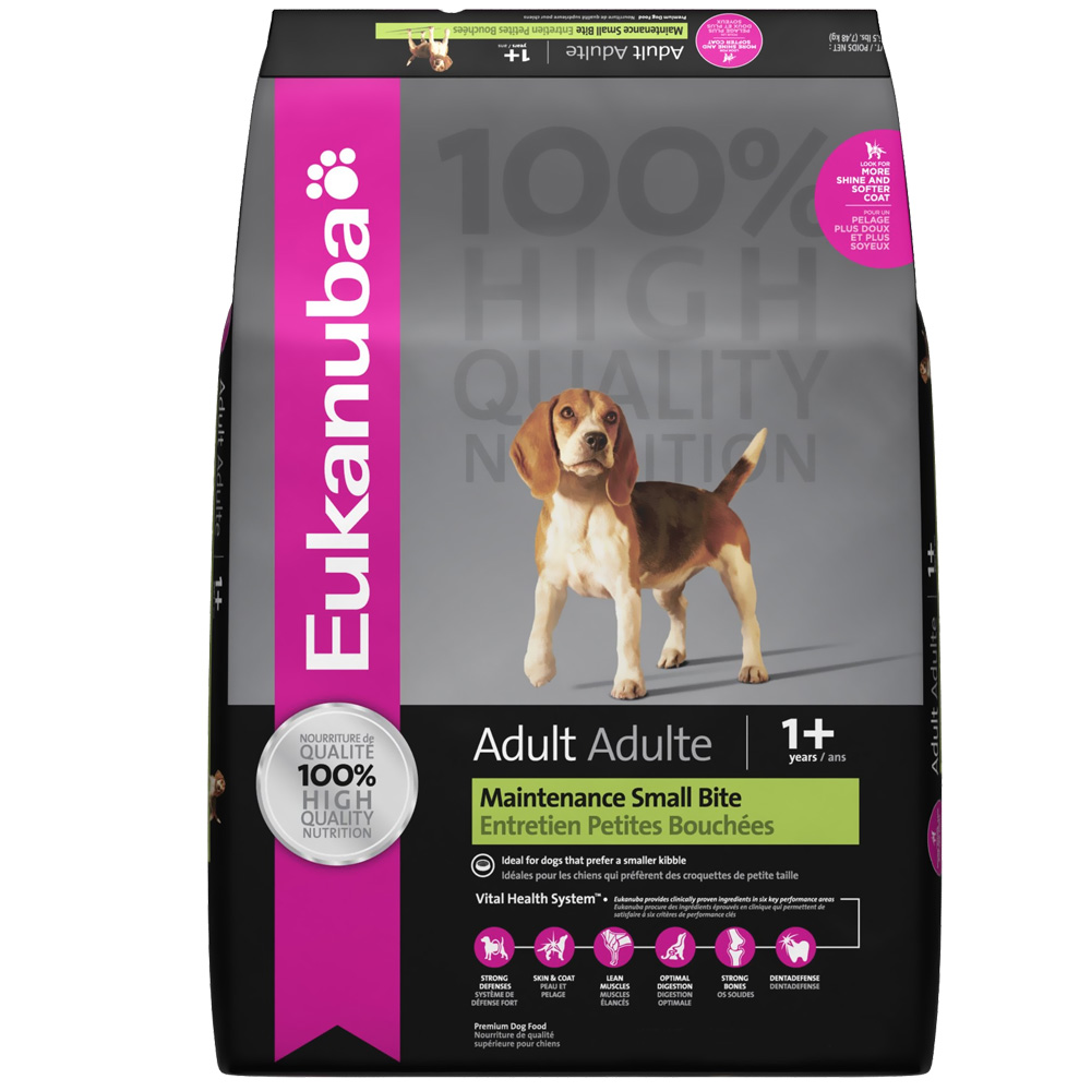 Eukanuba Adult Dog Food - Maintenance Small Bite (5 lb) im test