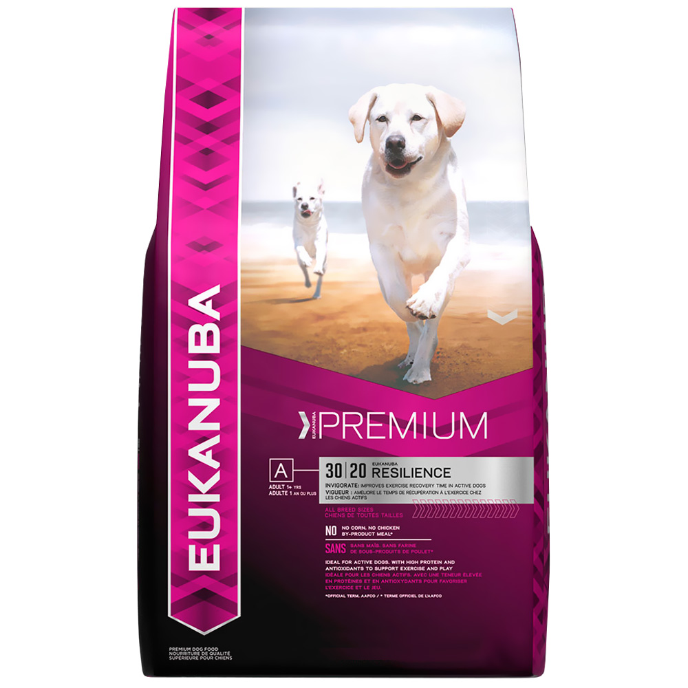 Eukanuba Adult Dog Food - Premium Resilience 30/20 (29 lb) im test