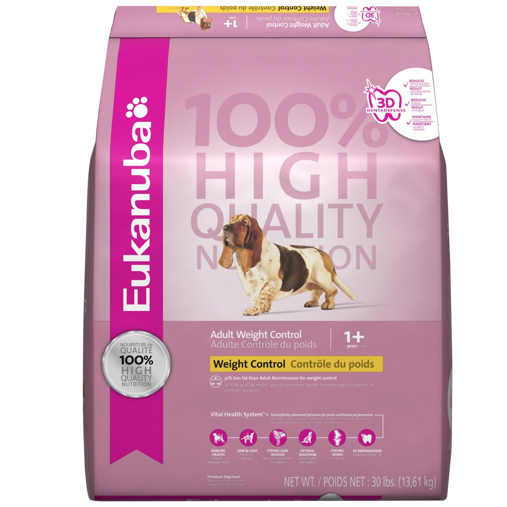 Eukanuba Adult Weight Control Dog Food (30 lb) im test