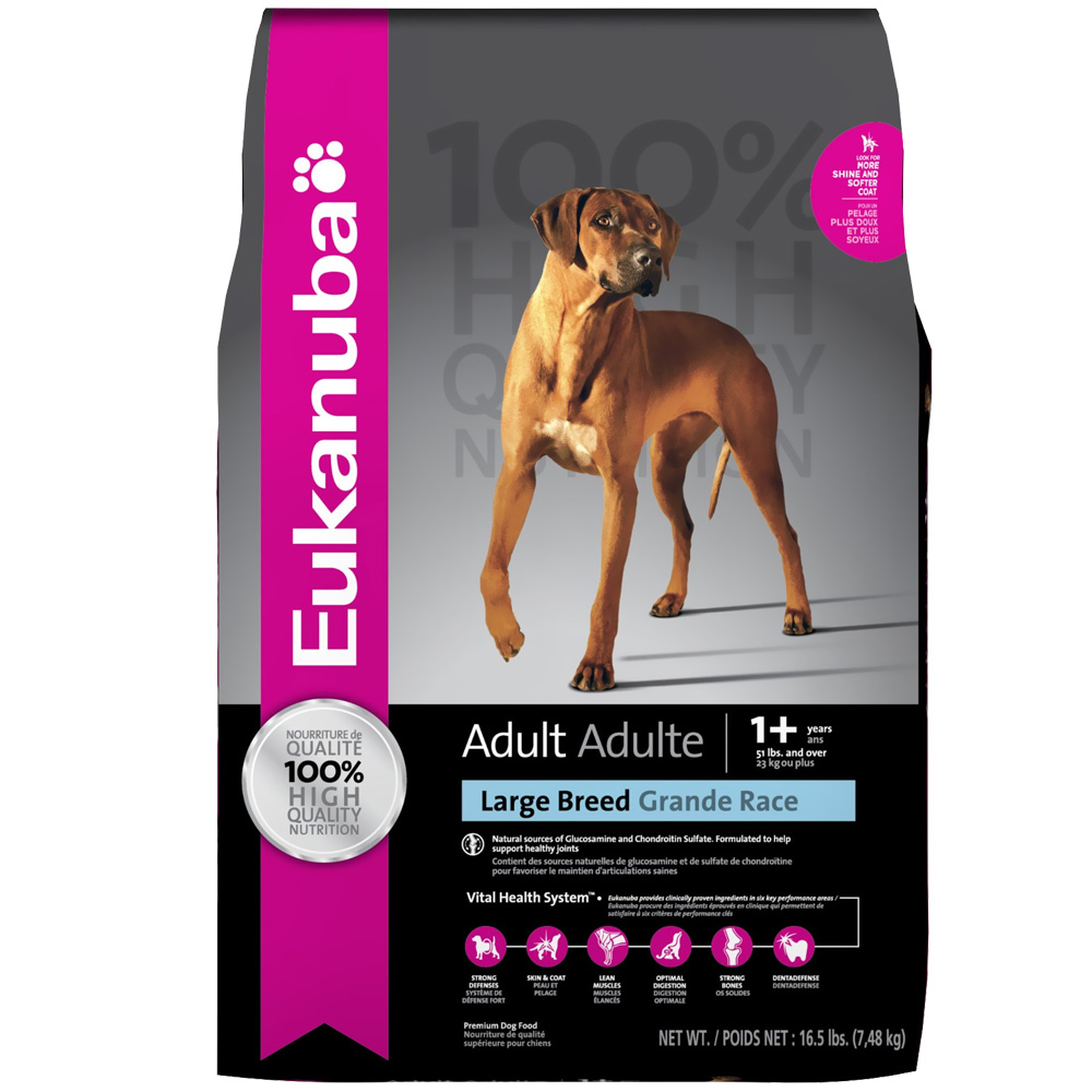 Eukanuba Adult Large Breed Dog Food (16 lb) im test