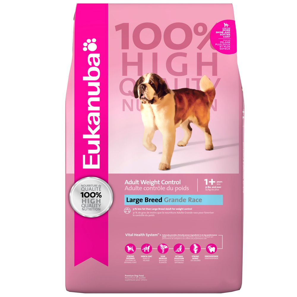 Eukanuba Adult Weight Control - Large Breed Dog Food (16 lb) im test