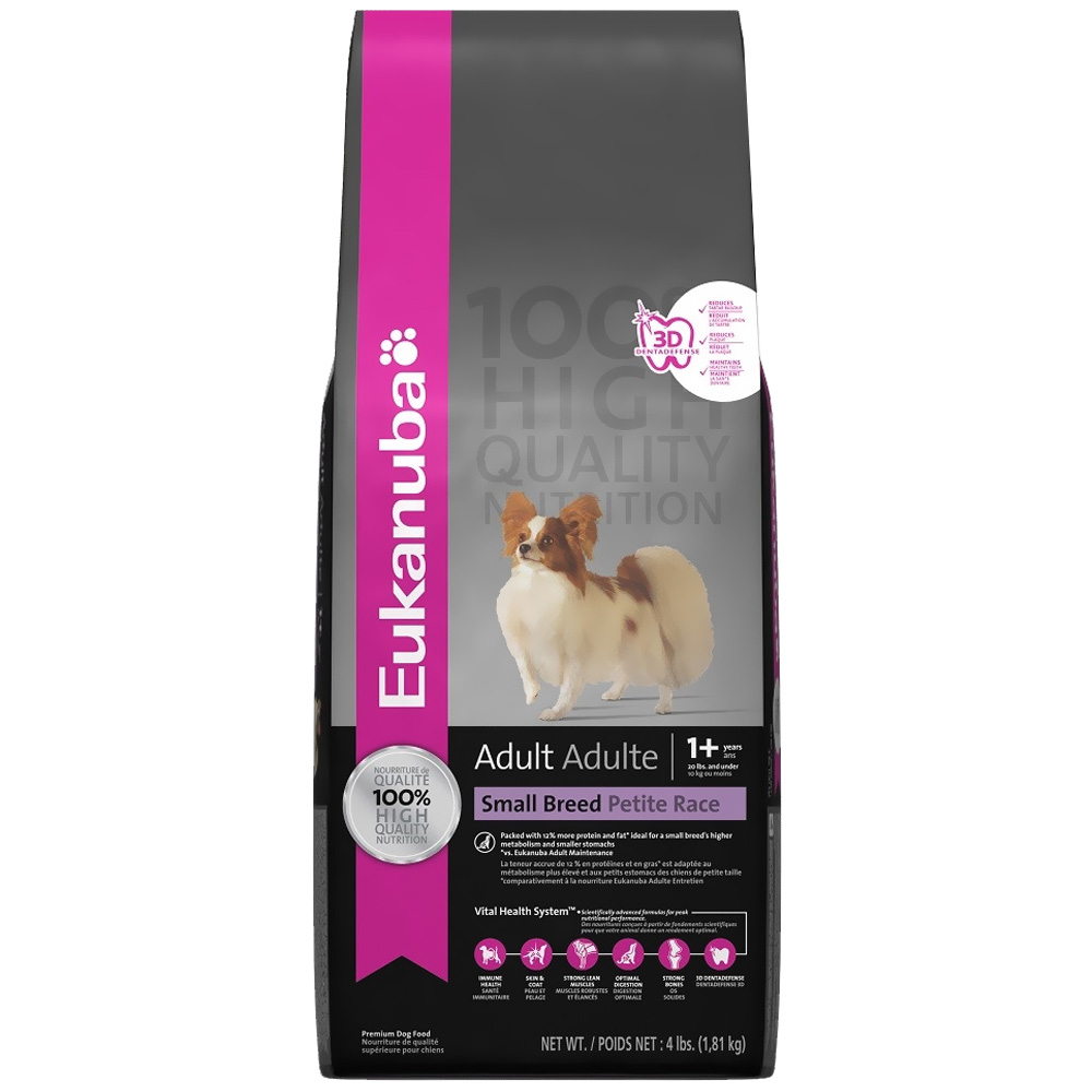Eukanuba Adult Small Breed Dog Food (5 lb) im test