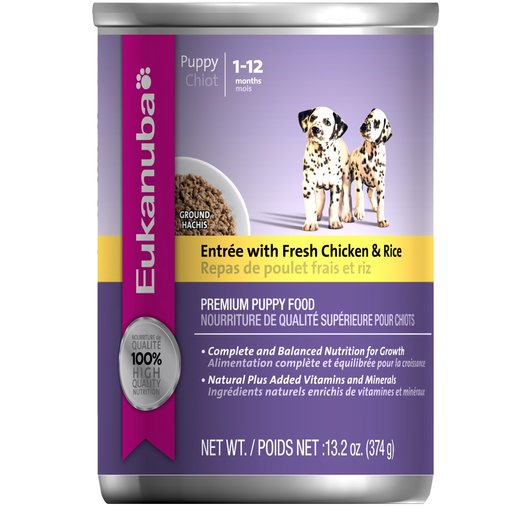 Eukanuba Puppy Canned Food - Mixed Grill with Chicken & Beef in Gravy (12x12.5oz) im test