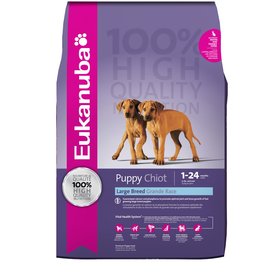 Eukanuba Puppy Large Breed Dog Food (5 lb) im test