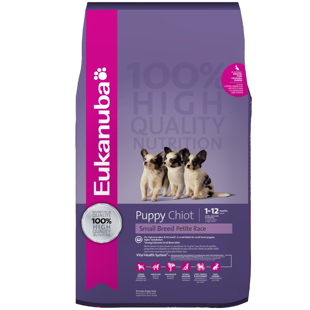 Eukanuba Puppy Small Breed Dog Food (16 lb) im test