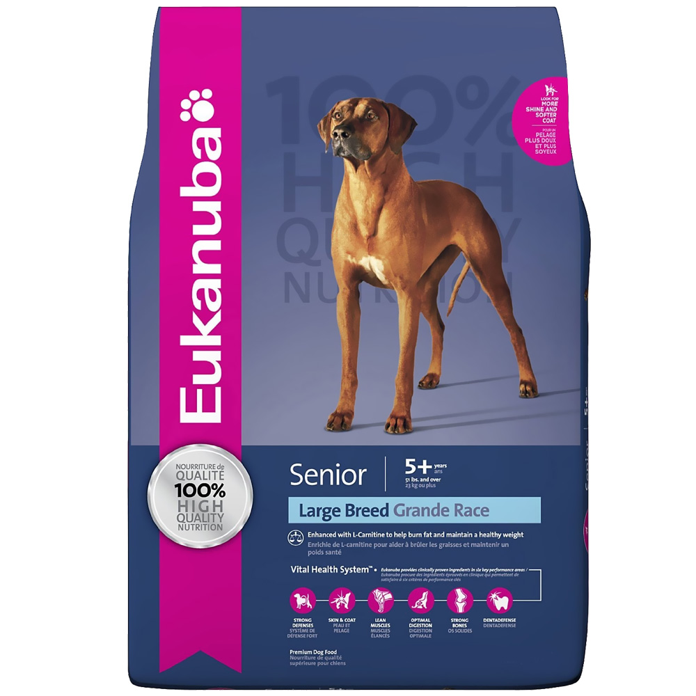 Eukanuba Senior Large Breed Dog Food (30 lb) im test