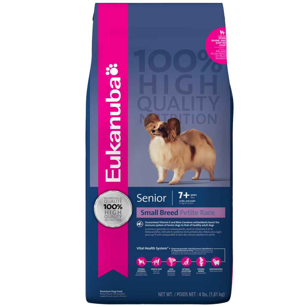 Eukanuba Senior Small Breed Dog Food (5 lb) im test