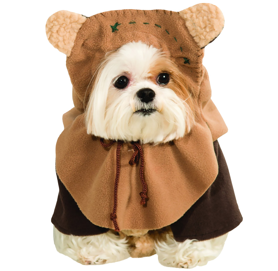 Ewok Dog Costume - Small im test