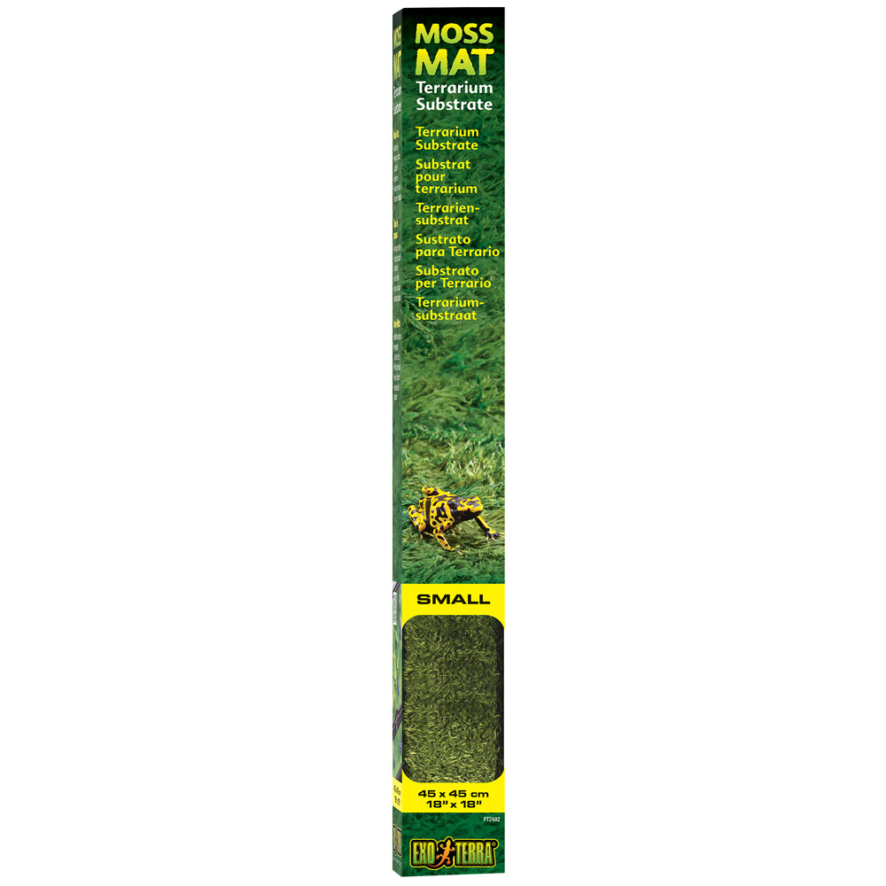 Exo Terra Moss Mat - Small - 18 * 18 - from EntirelyPets