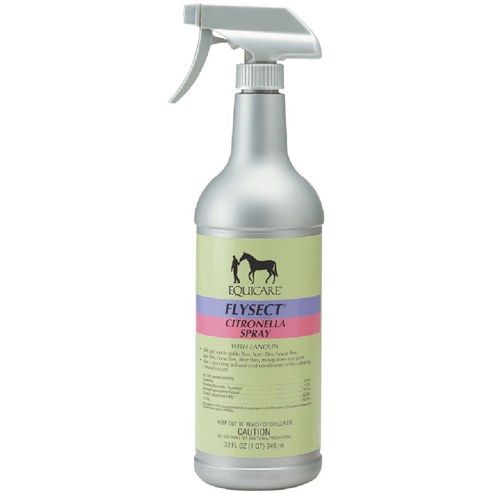 Farnam Equicare Flysect Citronella Spray with Lanolin im test