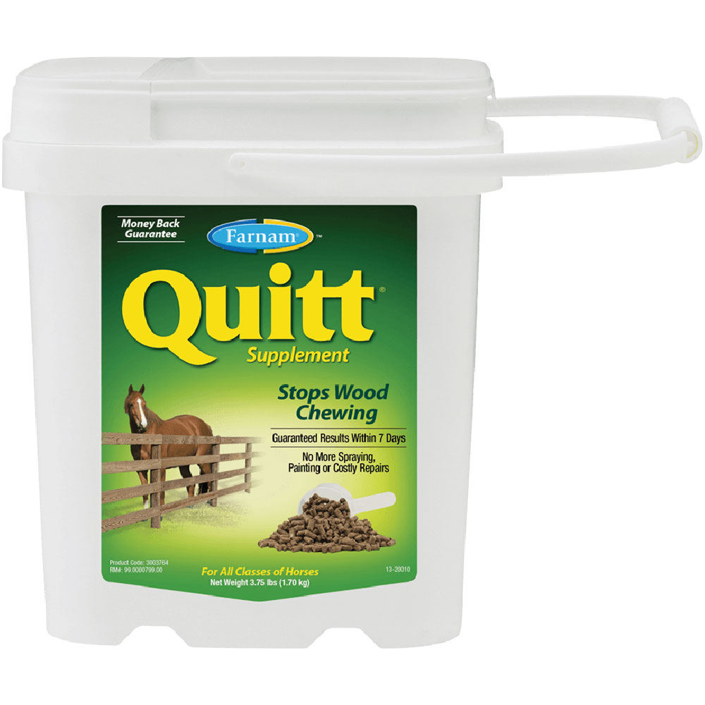 Farnam Quitt Wood Chewing Supplement, 3.75lb im test