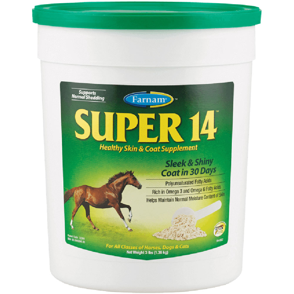 Farnam Super 14 Healthy Skin and Coat Supplement, 3lb im test