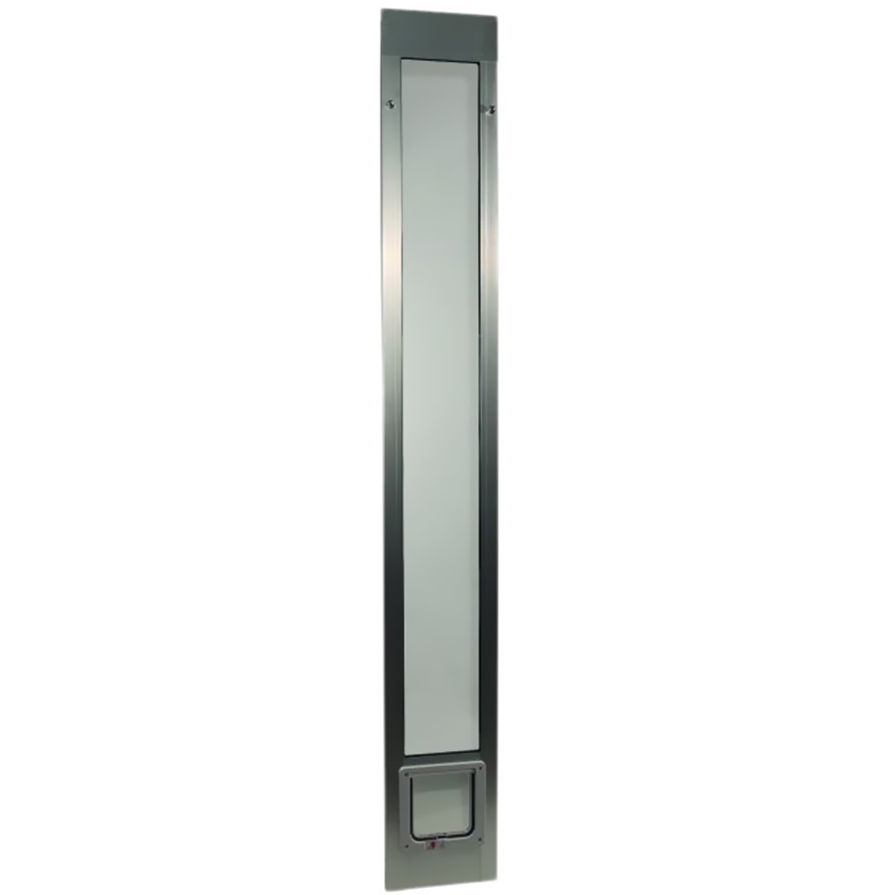 Fast Fit Pet Patio Doors™ Silver (Mill)