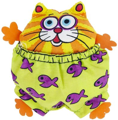 Fat Cat Zoom Stuffers Catnip Toys - Assorted