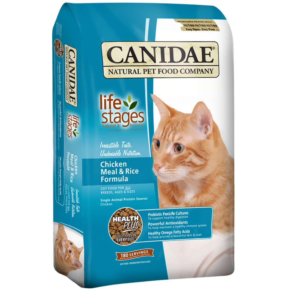 Canidae Life Stages Chicken Meal & Rice Formula Dry Cat Food (15 lb) im test