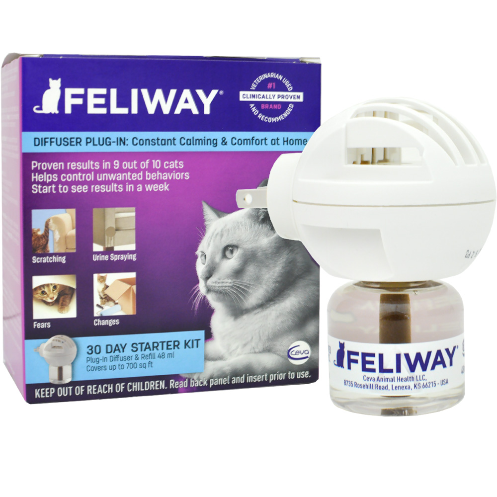 FELIWAY CLASSIC Starter Kit for Cats (Diffuser and 48 ml vial) im test