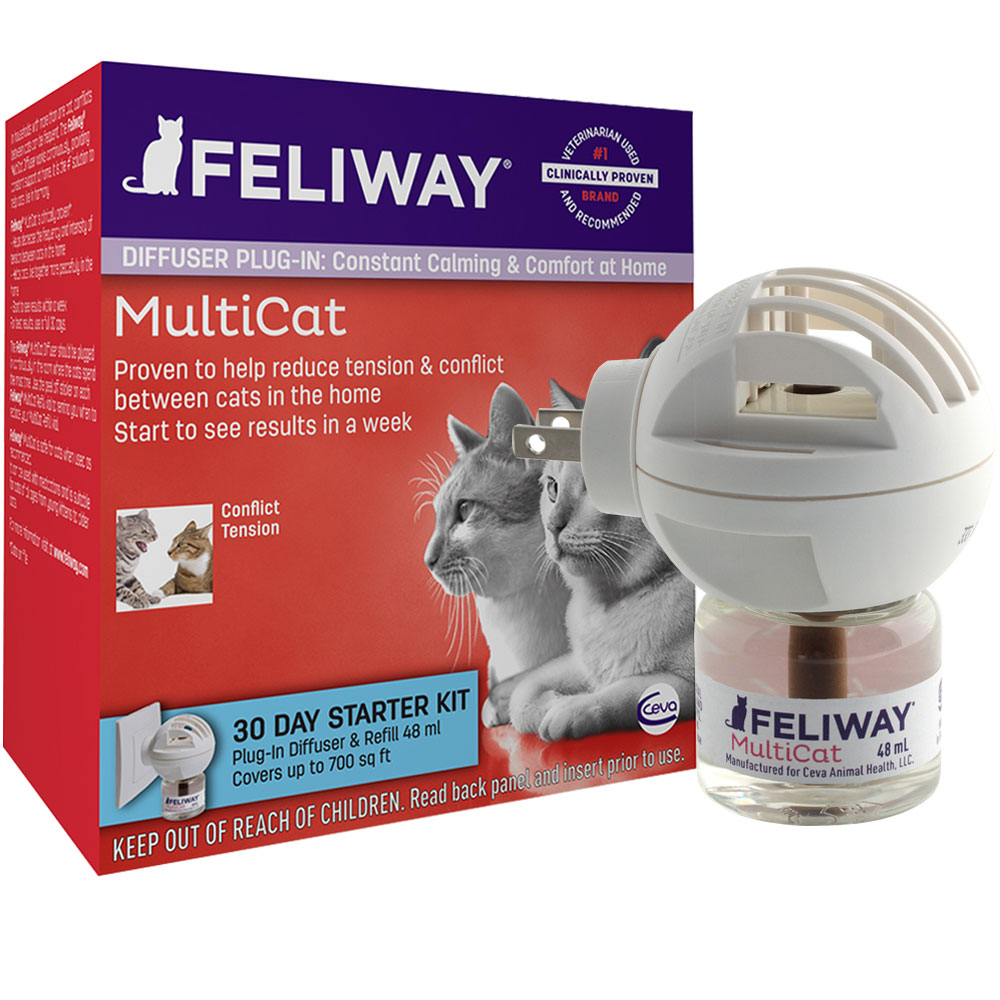 Feliway MultiCat Starter Kit & 30 Day Refill (48 ml) im test