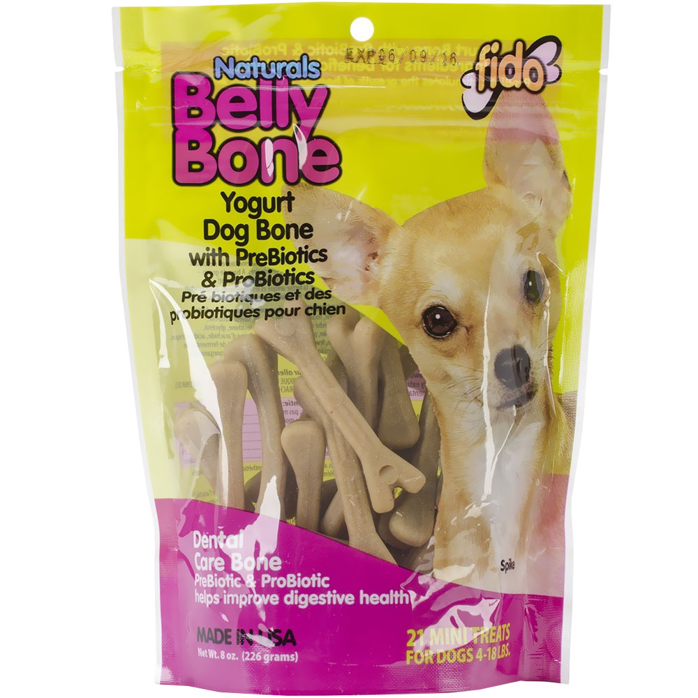 Fido Dental Care Belly Bones (Mini 21 Pack) im test