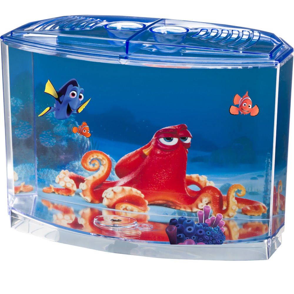 Image of Finding Dory Betta Aquarium Tank Kit (0.5 Gallon)