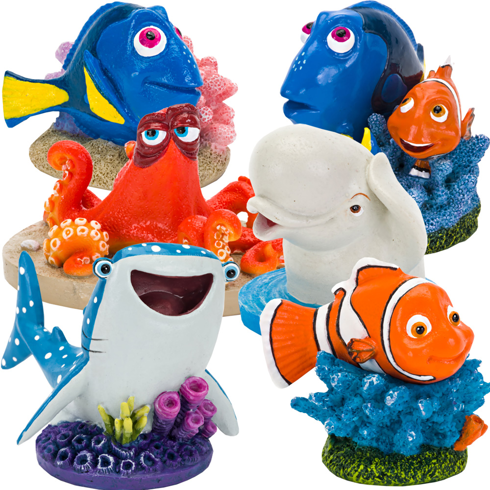 Image of Finding Dory & Friends Aquarium Ornament Set - Medium