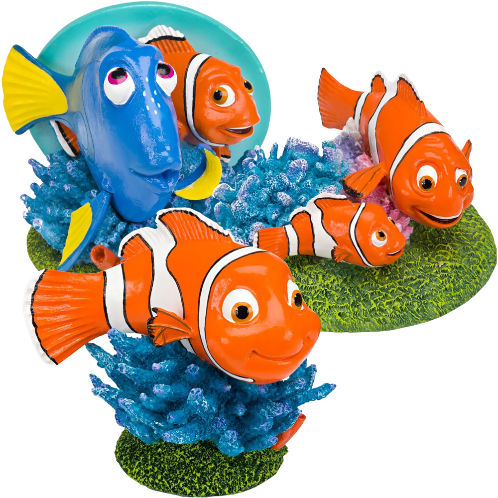 Image of Finding Nemo & Friends Aquarium Ornament Set